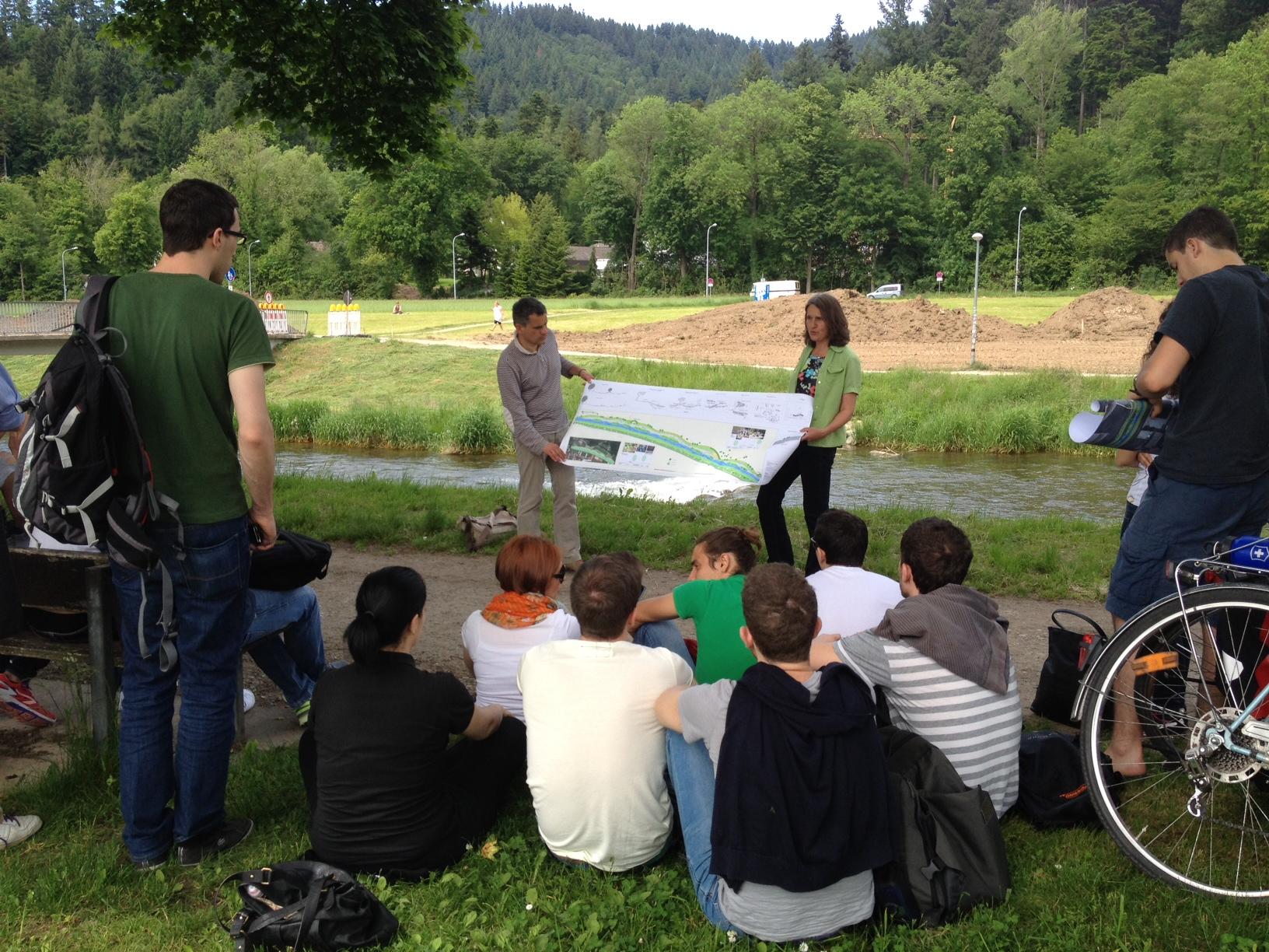 La rinaturalizzazione del fiume Dreisam