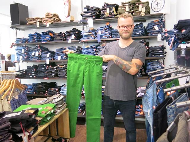 Negozio di abbigliamento organico Zundstoff