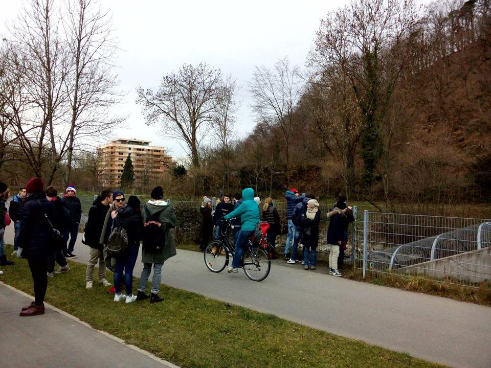 Escursione in bicicletta lungo il fiume Dreisam