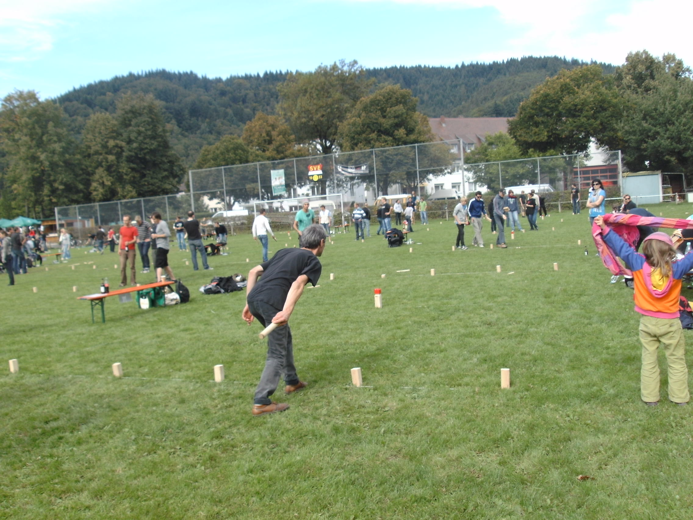 Giocare a Kubb